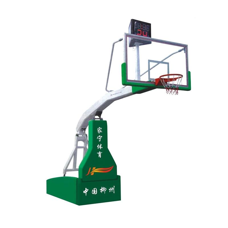 JN-A1 豪华电动或手动液压篮球架
