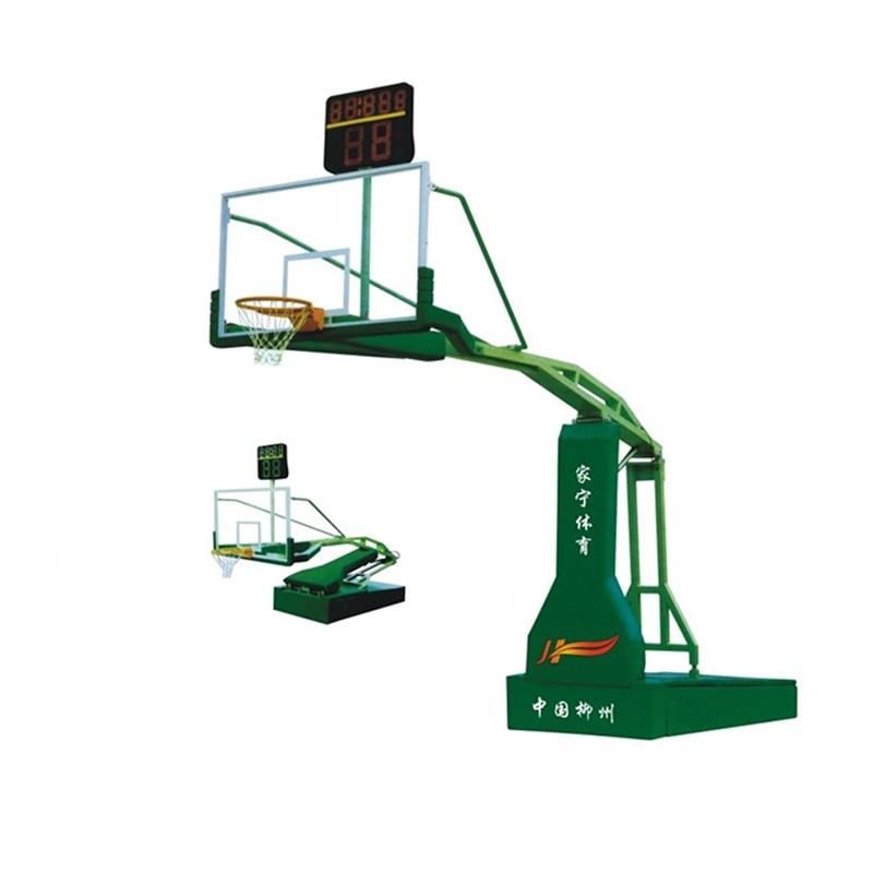 JN-A2 电动或手动液压篮球架
