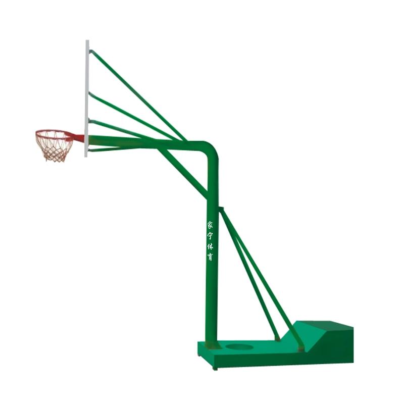 JN-A6 底桶圆管移动式篮球架