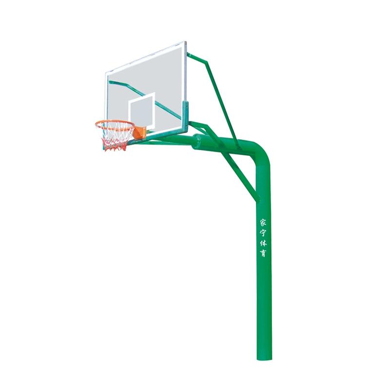 JN-A8埋地式透明板篮球架 管径Φ219