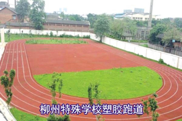 柳州市特殊学校塑胶跑道