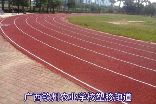 广西钦州农业学校塑胶跑道
