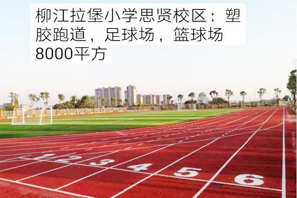 柳江拉堡小学思贤校区8000平运动场