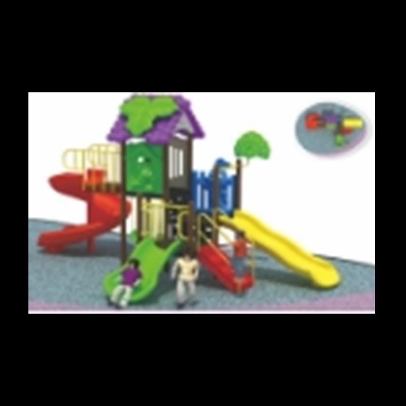 室外儿童滑滑梯